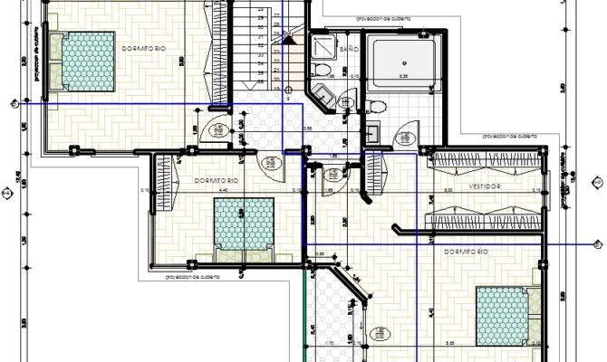 Modern House Dwg Plan Autocad Designscad