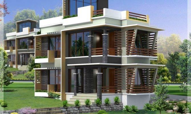 Modern House Elevation Designs Front