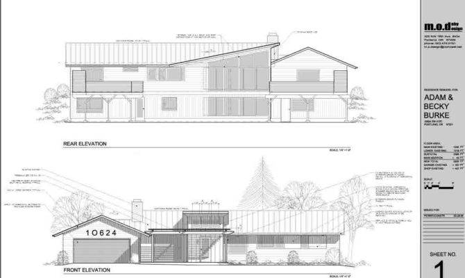 Modern House Elevation Drawings Android Iphone