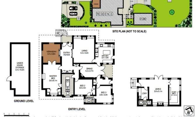 Modern House Floor Plan Encourage
