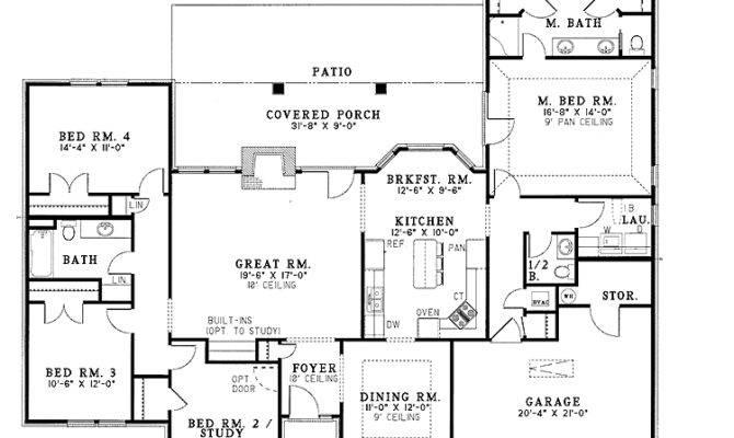 Modern House Floor Plan Homes Plans
