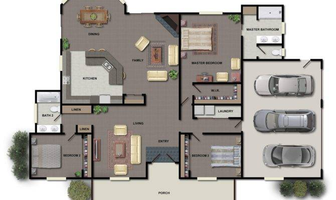 Modern House Floor Plans Home Design Ideas