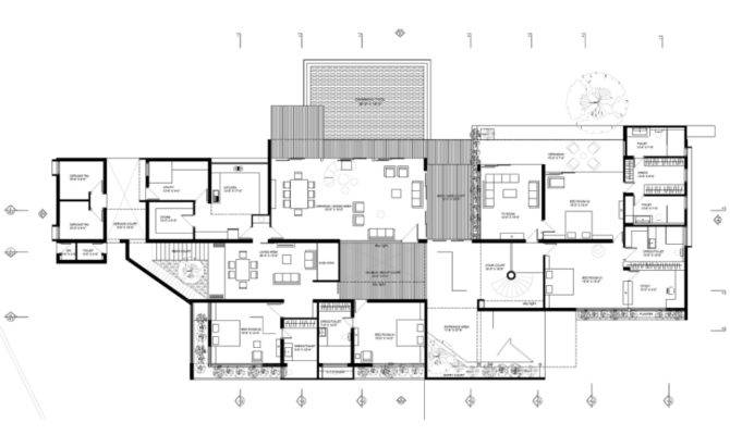Modern House Floor Plans Withal Contemporary