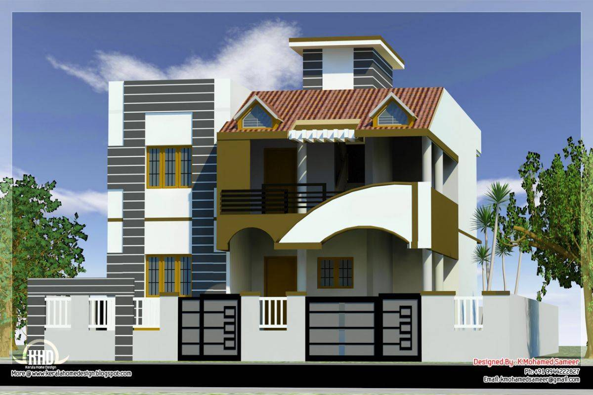 Modern House Front Side Design India Elevation House Plans 51991,Modern Entryway Bench With Storage
