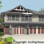 Modern House Garage Dream Cottage Blueprints
