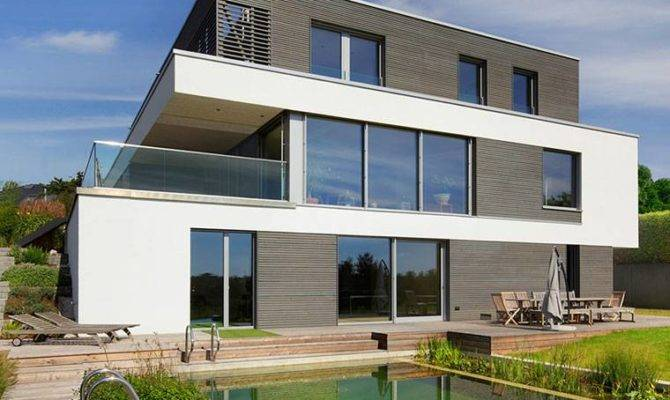 Modern House Home Designs Baufritz Eco Friendly