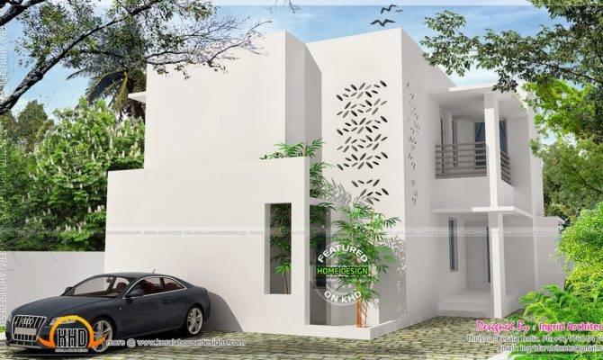 Modern House Kerala Home Design Floor Plans Simple