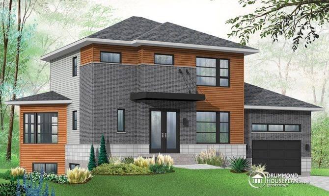 Modern House Plan Basement Apartment