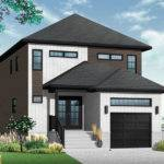 Modern House Plan Drummond Plans