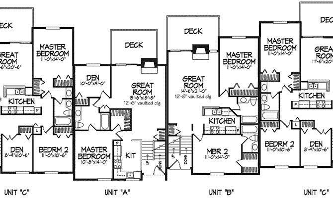 Modern House Plan First Floor Plans More