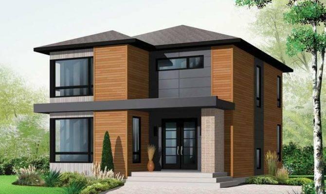 Modern House Plan Plans European