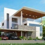 Modern House Plans Dwg Plan