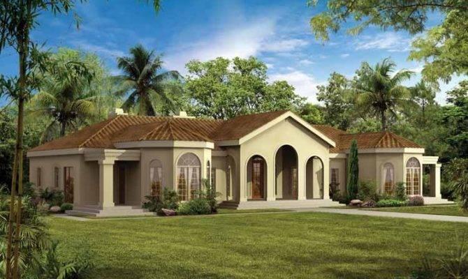 Modern House Plans Eplans Mediterranean