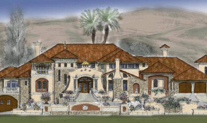 Modern House Plans Luxury Custom Floor Plan Stone