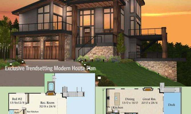 Modern House Plans Samples Home