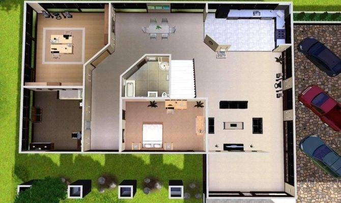 Modern House Plans Sims Listed Our