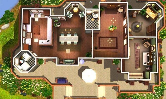 Modern House Plans Sims