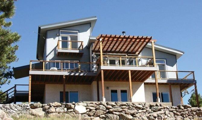Modern House Plans Sloped Lots Best Lot