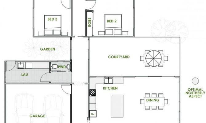 Modern House Plans Space Efficient Plan Apartment Floor