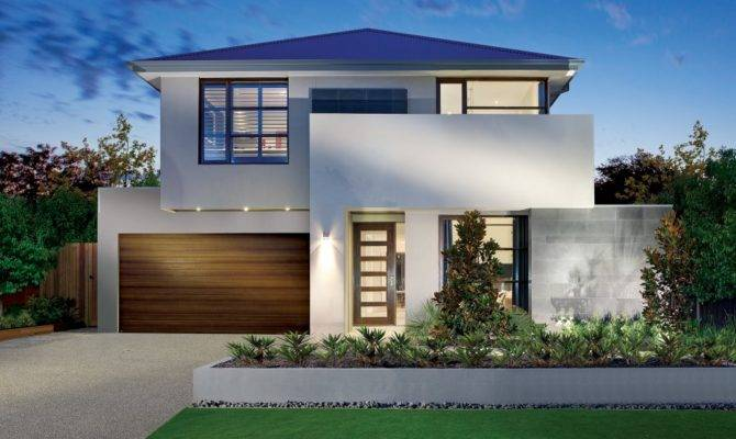 Modern House Plans Views