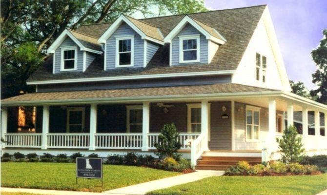 Modern House Plans Wrap Around Porch