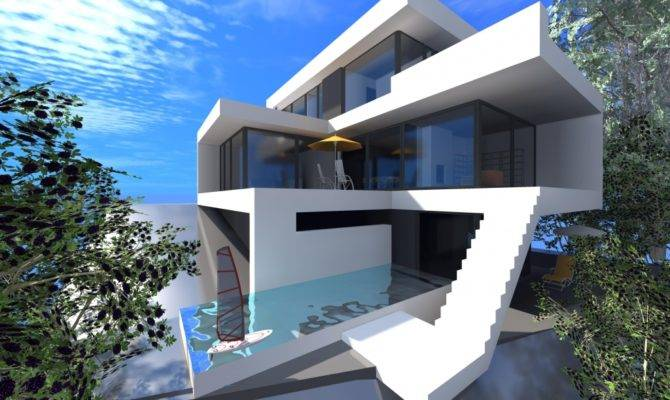 Modern Houses Minecraft House House Plans 135063