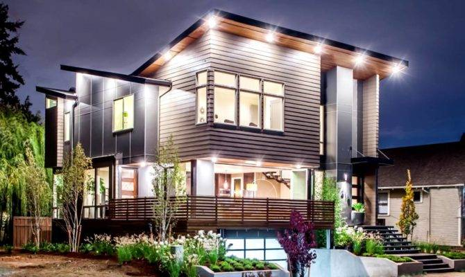 Modern Houses Portland Interior Design Usa Oregon