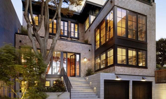 Modern Houses Shingle Siding