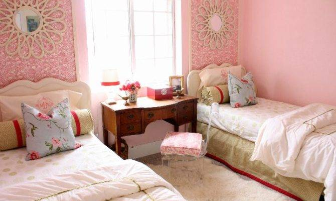 Modern Ideas Twin Girls Bedroom Many Colors Freshnist