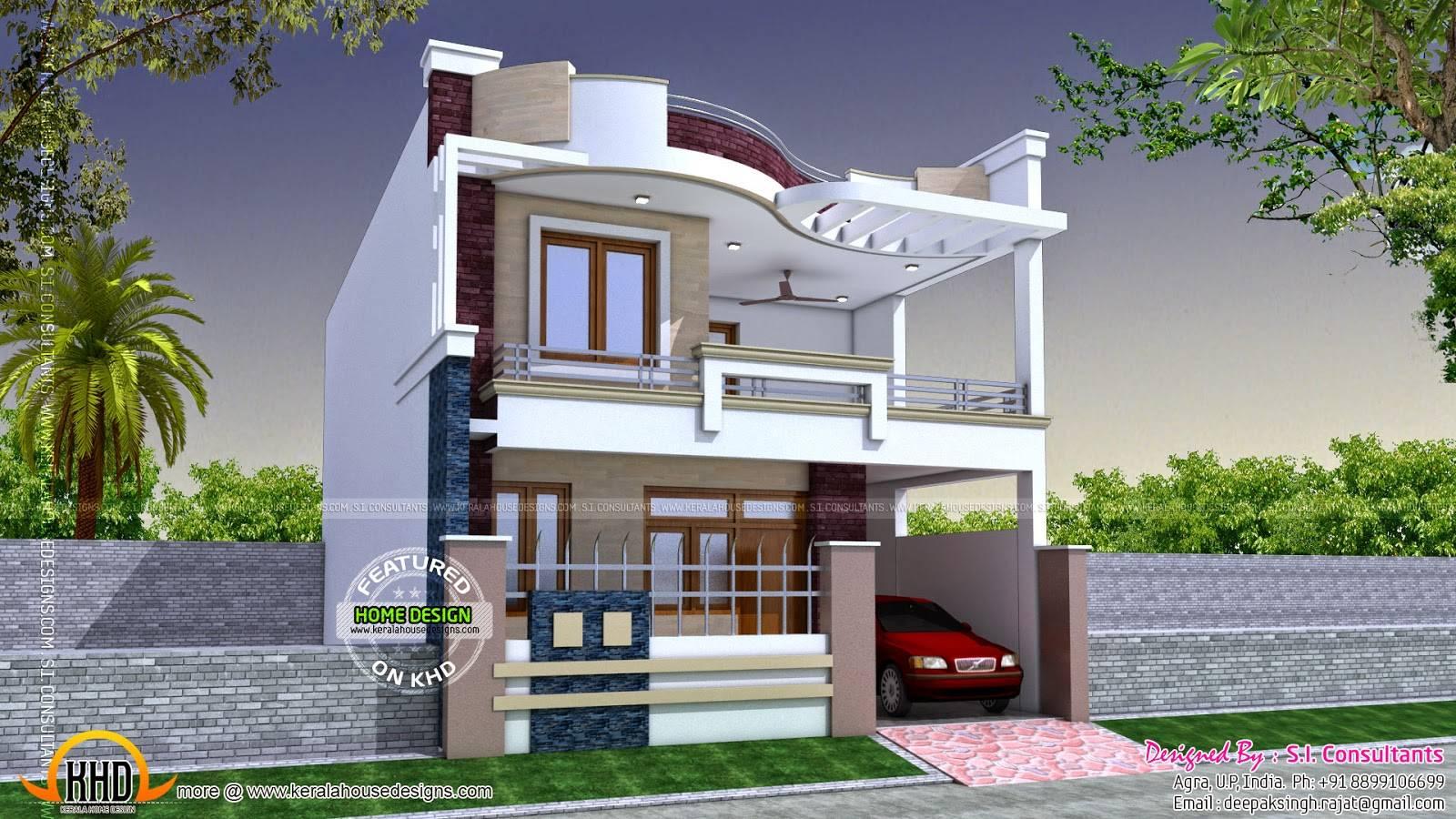 Modern Indian Home Design Kerala Floor Plans House Plans 106486