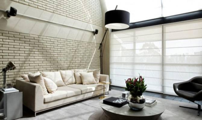 Modern Industrial Loft Designs One Total Pics Minimalist