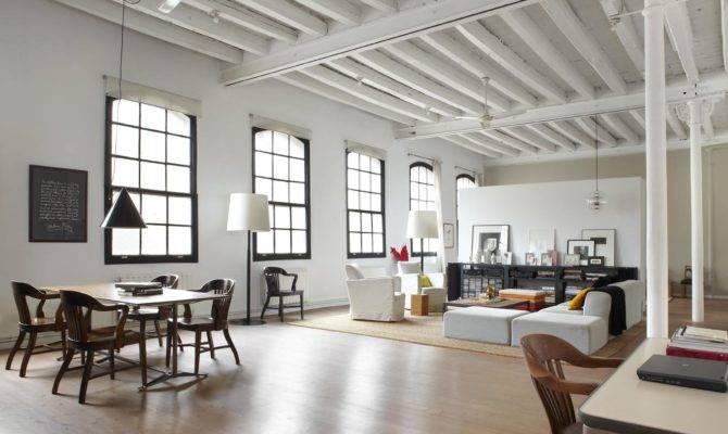 Modern Industrial White Loft Barcelona Trendland