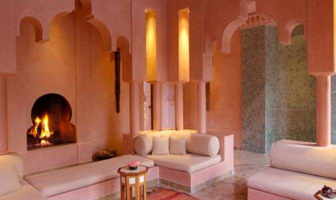 Modern Interior Design Moroccan Style Blending Chic