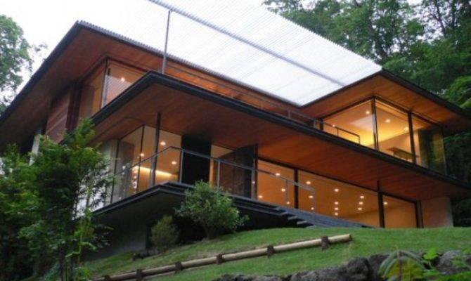 Modern Japanese Home Design Outdoor Interior