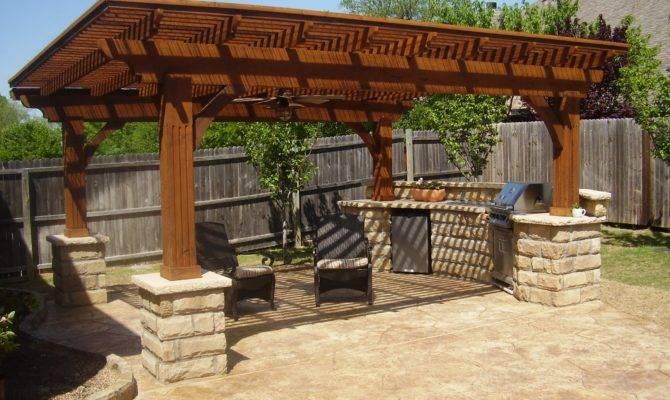 Modern Kitchen Interior Designs Outdoor Summer Proposal
