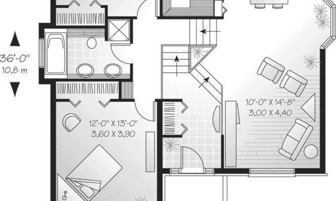 Modern Level House Plans Luxury Savona Cliff Split
