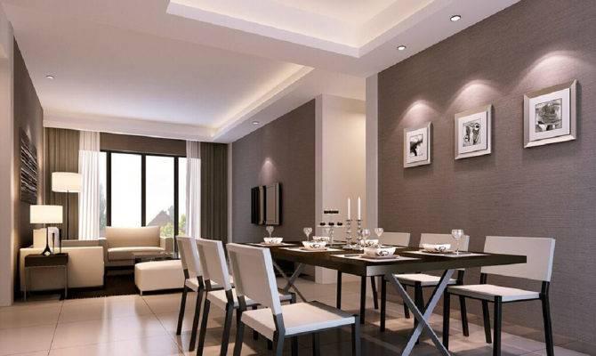 Modern Living Room Dining Together