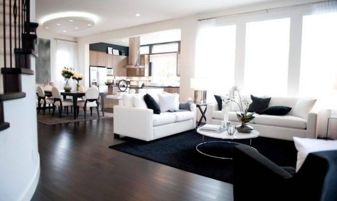 Modern Living Rooms Open Floor Plans