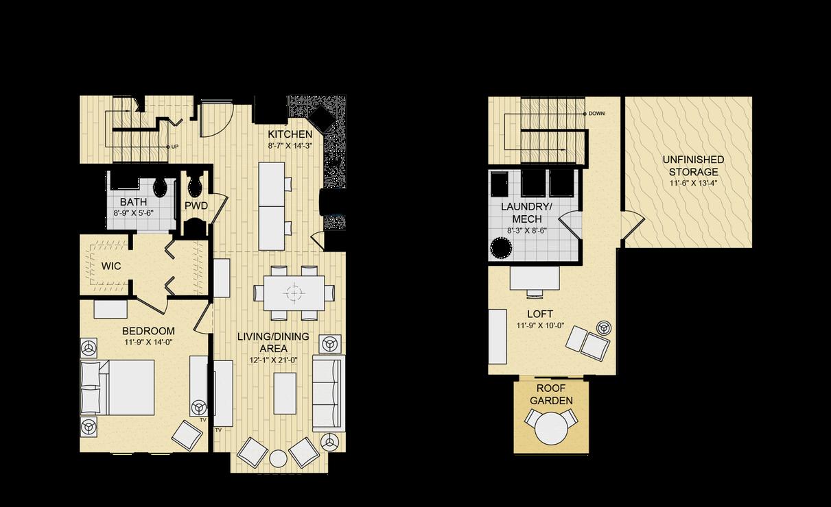 Modern Loft Apartment Layout Ideas Design House Plans 164086