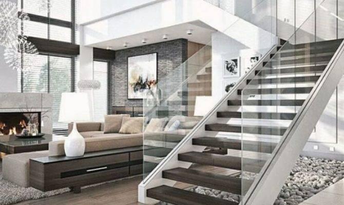 Modern Loft Ideas House Living Room