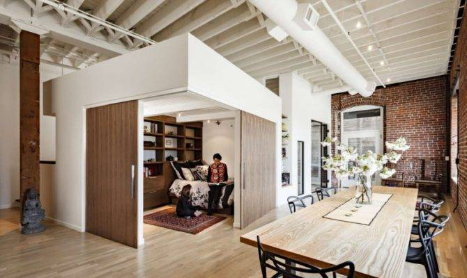Modern Loft Portland Embedding Multiple Lifestyles