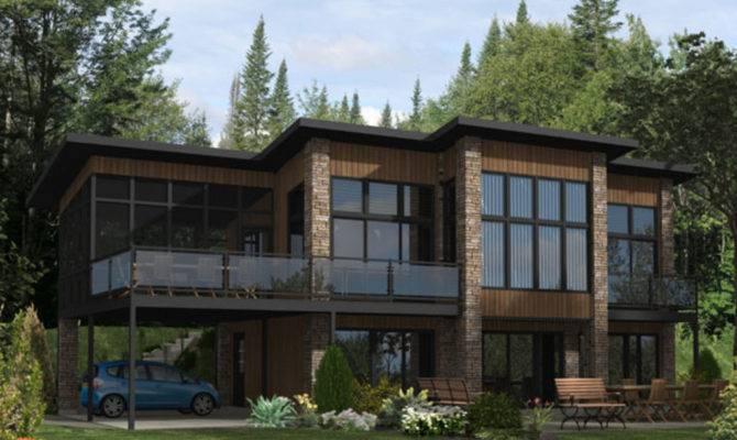 Modern Loft Style House Plans Building Design