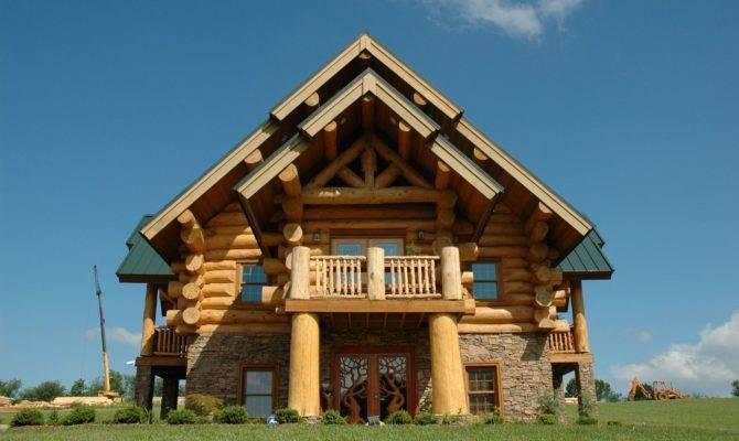 Modern Log Cabins Plans Hearthstone Homes