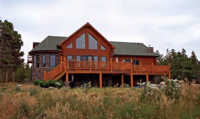 Modern Log Homes Premier Custom Home Builder Colorado