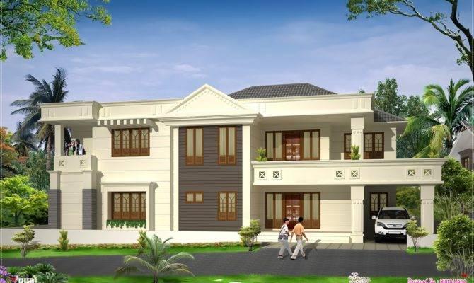 Modern Luxury Home Design Kerala Floor Plans