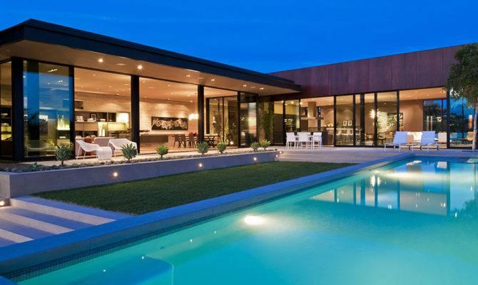 Modern Luxury House Hollywood Seen Pool