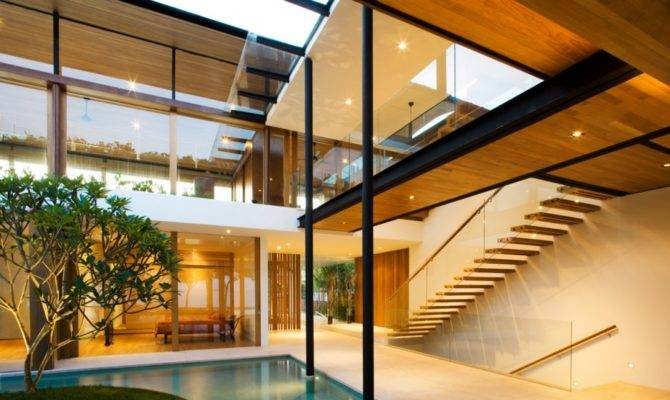 Modern Luxury Tropical House Most Beautiful Houses