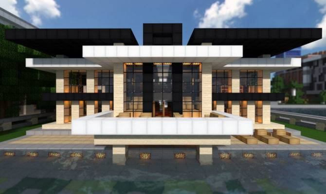 Modern Mansion World Keralis Minecraft Project House Plans 16769