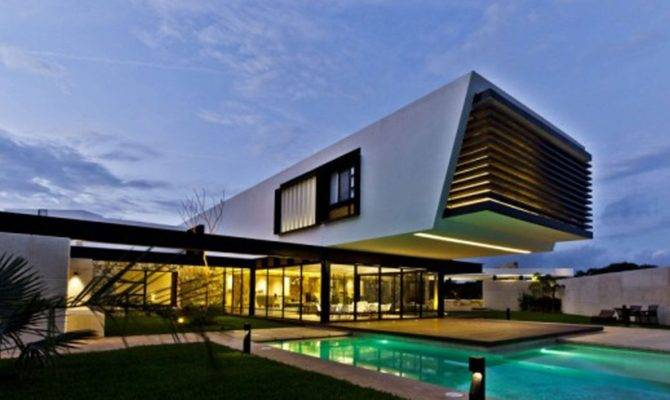Modern Mexican House Architecture