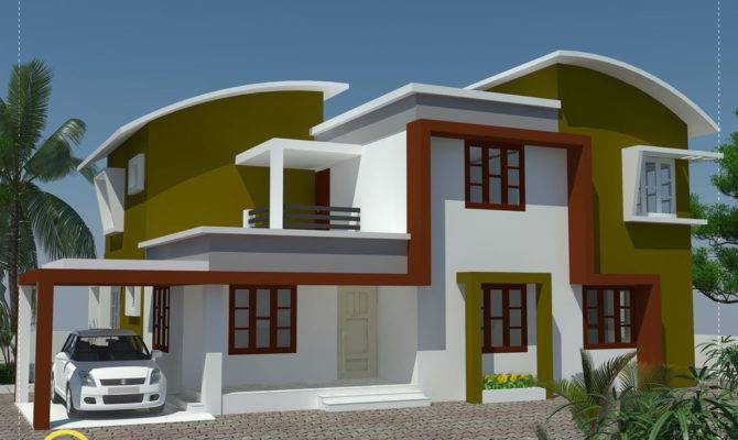 Modern Minimalist House Kerala